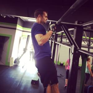 CrossFit Marietta Square Chest to Bar Pullups